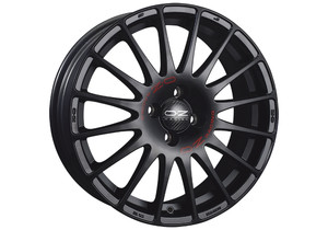 OZ Superturismo GT Matt Black