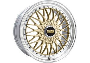 BBS Super RS Gold/Polished