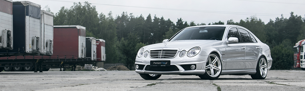 Mercedes E63 AMG W211 | BC Forged RZ09