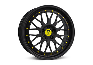 Felgi mbDesign - mbDesign LV1 Matte Black/Yellow