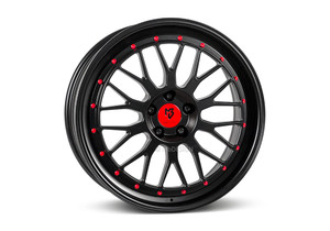 Felgi mbDesign - mbDesign LV1 Matte Black/Red