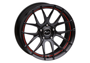 Felgi Breyton - Breyton Race GTS-R Matt Black/Red Stripe