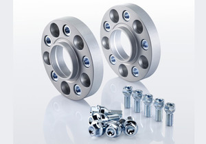 Dystanse Eibach Pro-Spacer | 3x112 | 30mm | 57mm | System 7 | Srebrne - Wheel spacers