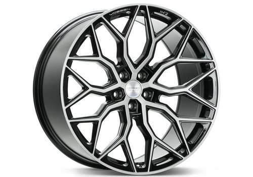 Vossen HF-2 Brushed Gloss Black - Vossen wheels