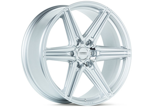 Felgi do Lincoln - Vossen HF6-2 Silver Polished