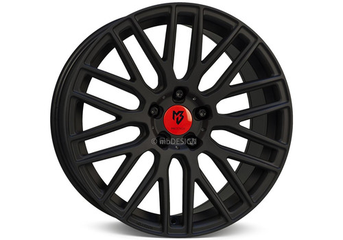 mbDesign KV4 Black Matt - Felgi do Mercedes ML W166 (2011+)