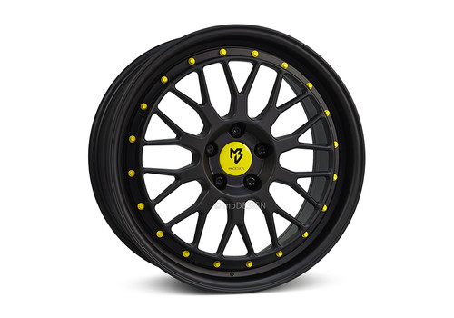 mbDesign LV1 Matte Black/Yellow