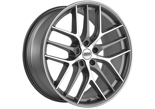 BBS wheels - BBS CC-R Graphite Diamond-Cut