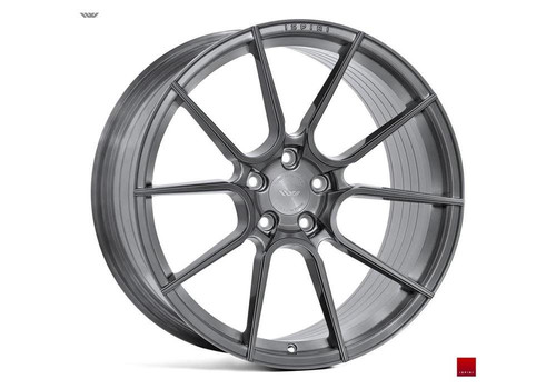 Ispiri FFR6 Brushed Carbon Titanium - Felgi do Mercedes