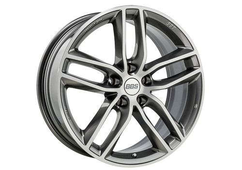BBS SX Platinum Silver/Diamond-Cut - Felgi do Volvo