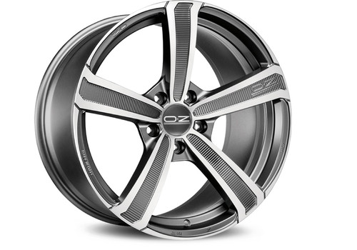 Felgi do Chevrolet - OZ Montecarlo HLT Matt Dark Graphite Diamond Cut