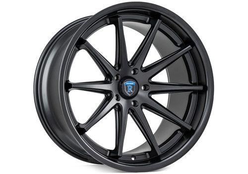 Rohana RC10 Matte Black - Wheels for Chrysler