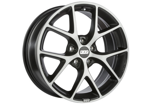 BBS SR Volcano Grey/Diamond-cut - Felgi do Volvo