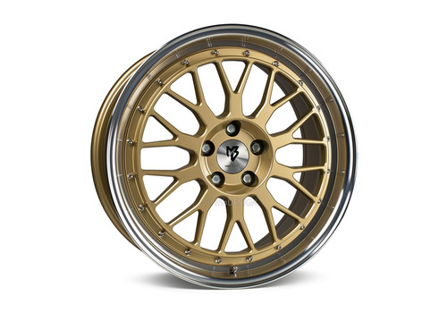 mbDesign LV1 Shiny Gold - Felgi do Volvo