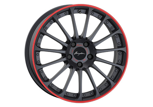 Breyton Magic CW Matt Grey Red Anodized Lip