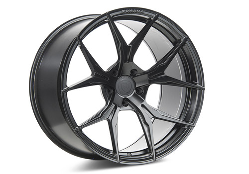 Rohana RFX5 Matte Black - Wheels for McLaren