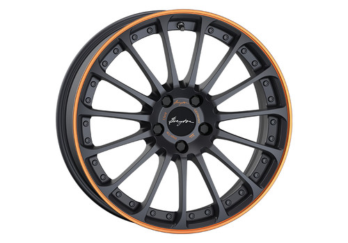 Breyton Magic CW Matt Grey Orange Anodized Lip