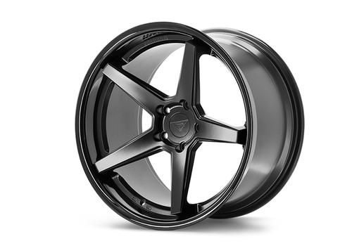 Ferrada FR3 Matte Black/Gloss Black Lip - Wheels for McLaren