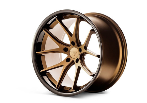 Ferrada FR2 Matte Bronze/Gloss Black Lip - Wheels for McLaren