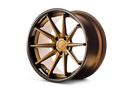 Ferrada FR4 Matte Bronze/Gloss Black Lip - Wheels for McLaren