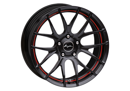 Breyton Race GTS-R Matt Black/Red Stripe
