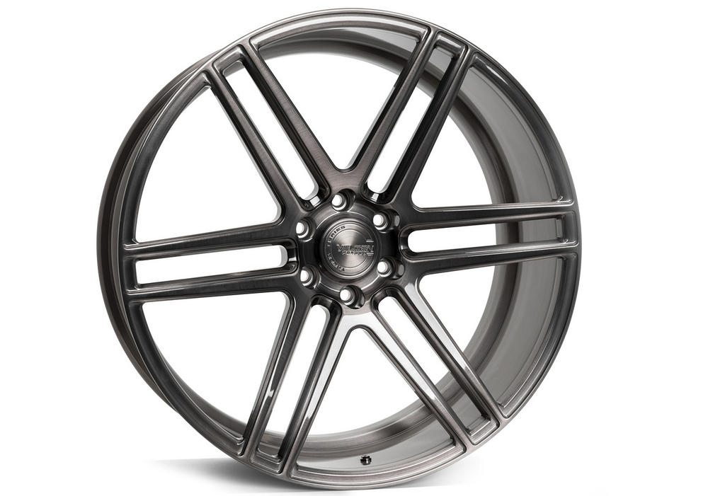 Forged Wheels wheels - Velgen VFT6 Brushed Tinted Clear
