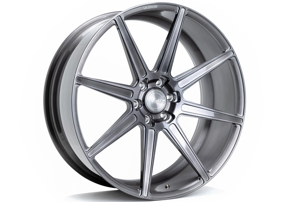 Forged Wheels wheels - Velgen VFT8 Brushed Tinted Clear