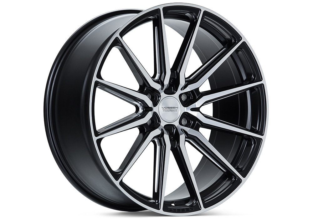 Vossen HF6-1 Satin Black Machined