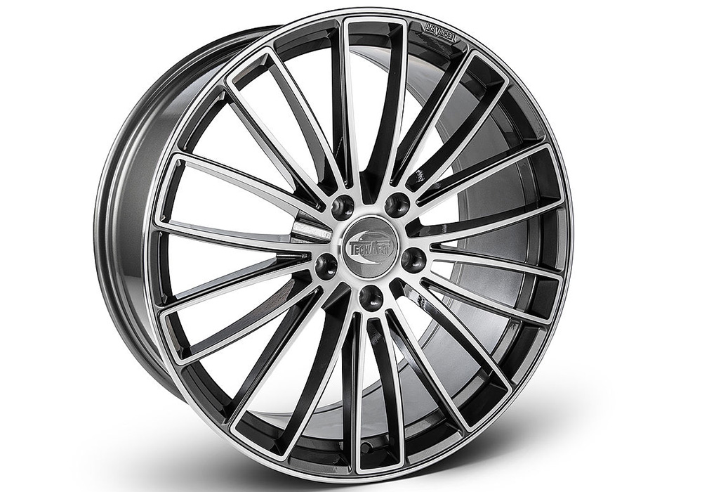 Techart wheels - Techart Formula V Bi-color