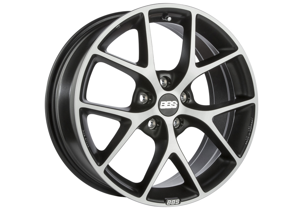 BBS SR Volcano Grey/Diamond-cut