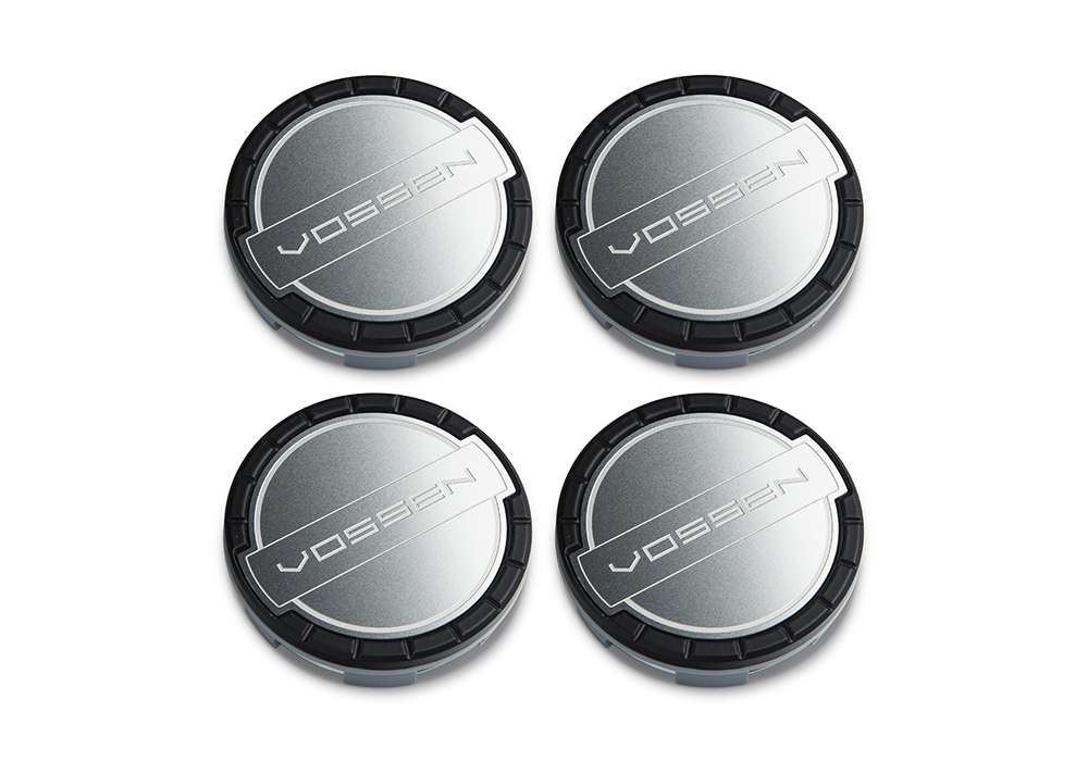 Accessories - Center caps Vossen Classic (Satin Black/Brushed)