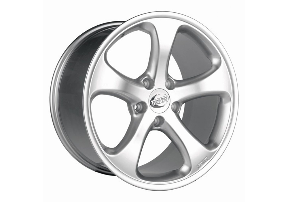 Techart wheels - Techart Formula Shiny Silver