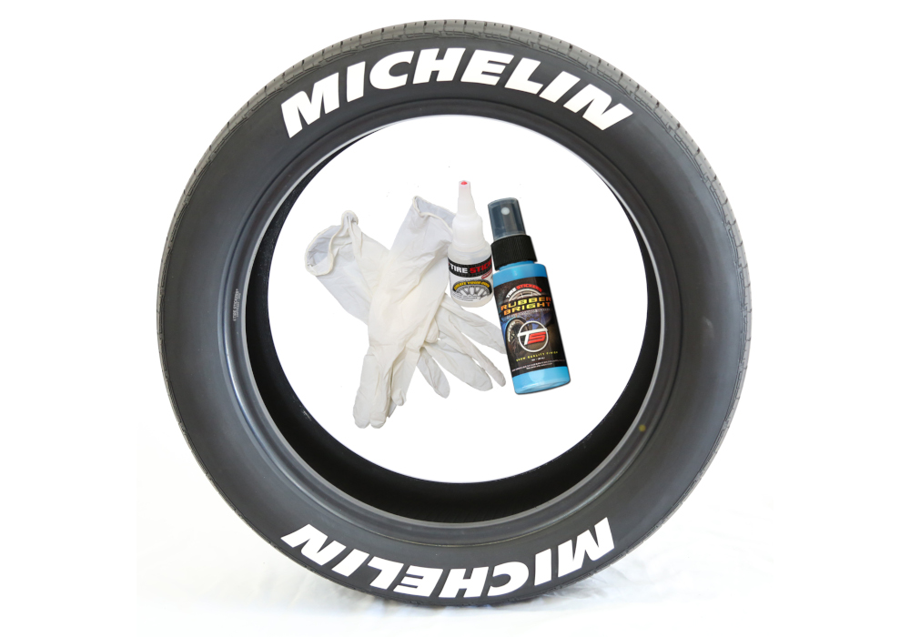 Accessories - Michelin tire stickers