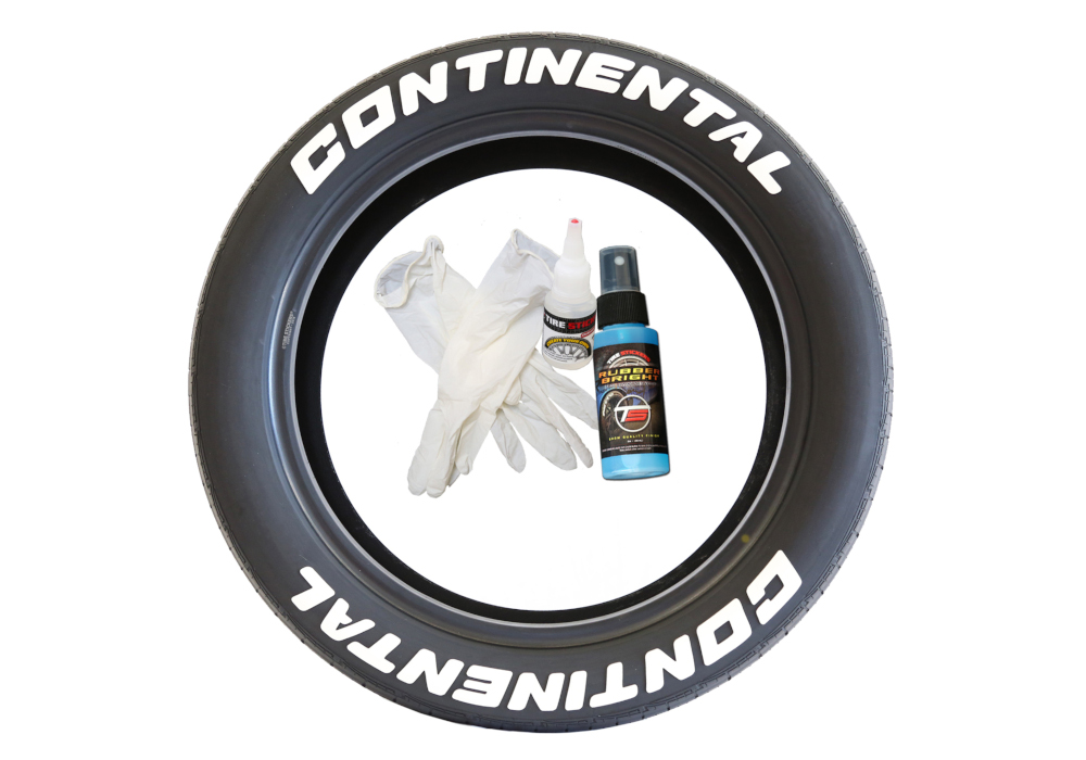 Accessories - Continantal tire stickers