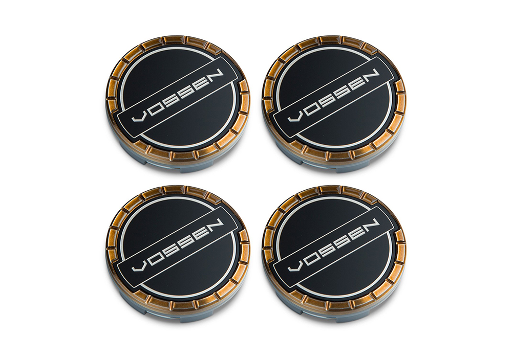 Accessories - Center caps Vossen Classic (Brickell Bronze/Black)