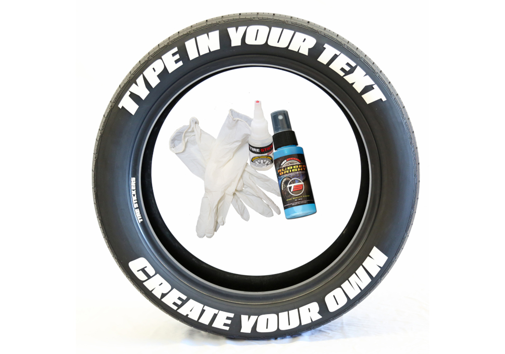 Accessories - Custom tire stickers