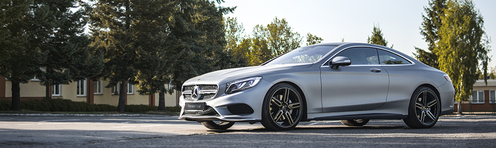 Mercedes S400 Coupe W222 | Vossen HF-1 | 21""